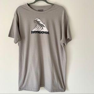 Patagonia Gray Wave T-shirt XXL